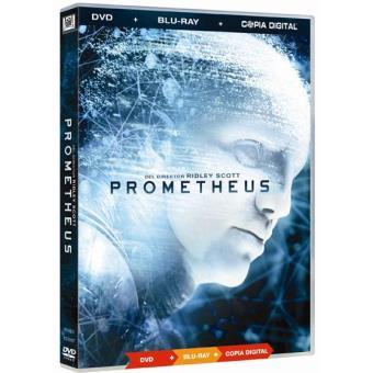 Prometheus (DVD + Blu-Ray) + Copia digital - DVD