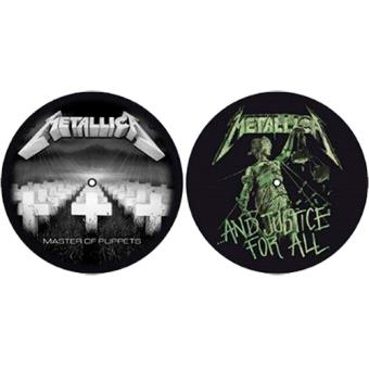 Deslizadores para tocadiscos Master of Puppets / And Justice for All Metallica
