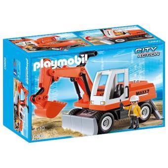 Playmobil Construcción Excavadora con cargadora frontal