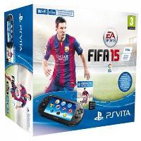PS Vita Consola Slim + FIFA 15 + Tarjeta 4GB