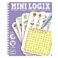 Sopa de letras Mini Logix Djeco (En inglés)