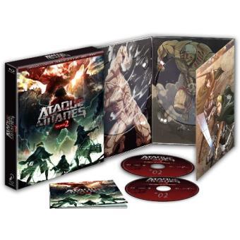 Ataque a los Titanes - Temporada 2 Ep. 1 a 12- Ed. coleccionista Blu-Ray