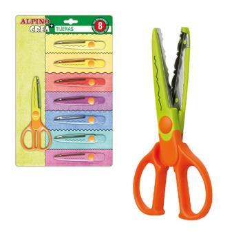 Pack Alpino tijeras - 8 cortes especiales