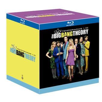 The Big Bang Theory - Temporadas 1-10 - Blu-Ray