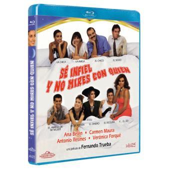 Sé infiel y no mires con quién - Blu-Ray