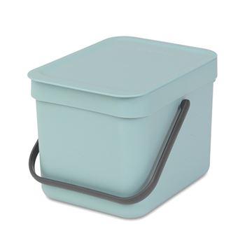 Cubo de basura Brabantia Sort & Go 6 L Mint