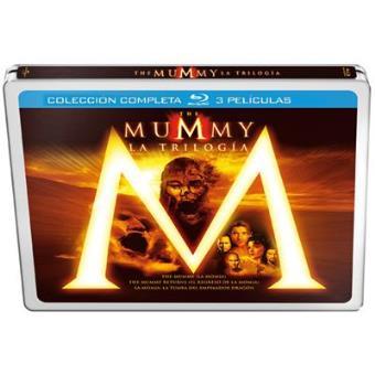 La momia: La trilogía - - Steelbook Blu-Ray