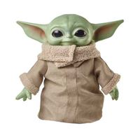 Peluche Mattel GWD85 Star Wars  - Baby Yoda The Mandalorian 28 cm