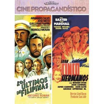 Pack Los últimos de Filipinas + Eran cinco hermanos - DVD