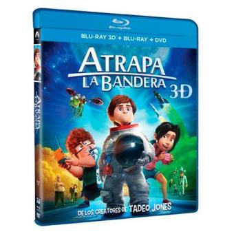 Atrapa la bandera - Blu-Ray + 3D + DVD