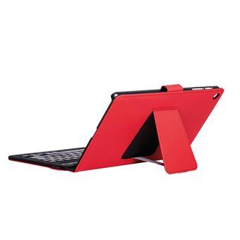 Funda con soporte y teclado SilverHT Rojo para Samsung Galaxy Tab A 10,1''