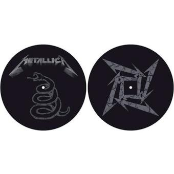 Deslizadores para tocadiscos The Black Album Metallica