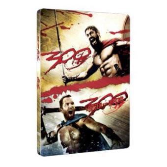 Pack 300 + 300: El origen de un imperio - Steelbook DVD