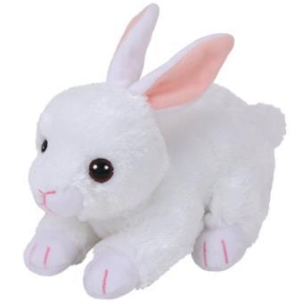 Peluche Beanie Boos Cotton Conejo Blanco
