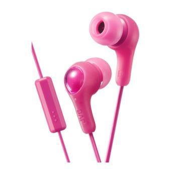 Auriculares de botón JVC HA-FX7M rosa