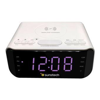 Radio despertador Sunstech FRD50 Blanco