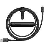 Cable batería Nomad Ultra resistente USB - Lightning Negro