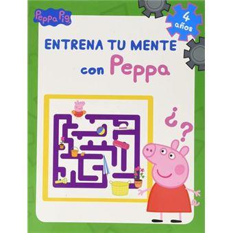 Entrena tu mente con Peppa. 4 años (Peppa Pig. Cuaderno de actividades)