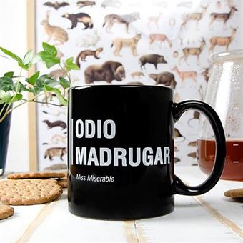 Taza Miss Miserable Odio madrugar