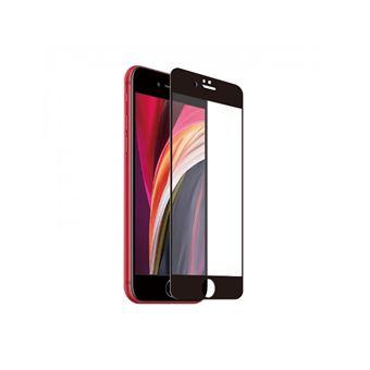Protector de pantalla Muvit Cristal templado Marco Negro para iPhone iPhone 7/8/SE (2ª Gen.)