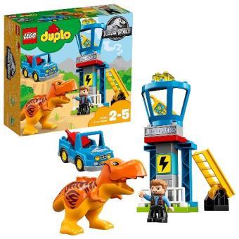 LEGO DUPLO Jurassic World - Torre de T-Rex