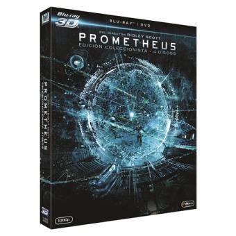 Prometheus - Blu-Ray + 3D + 2D + DVD