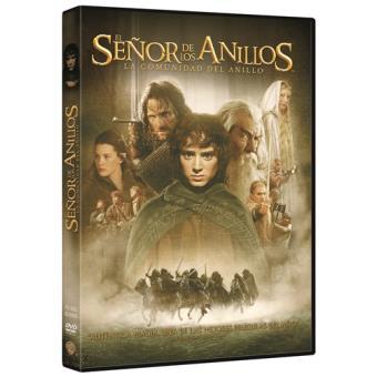 El Señor de los Anillos 1 La comunidad del anillo - DVD
