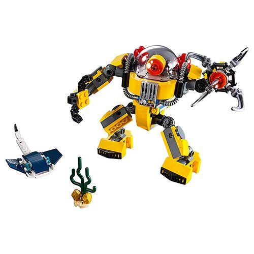 Lego Creator En 3 Robot 1 Submarino k8PZ0NnOXw