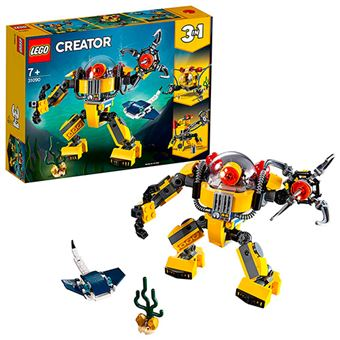 LEGO Creator 3 en 1 Robot submarino