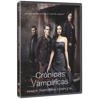 Crónicas VampíricasCrónicas vampíricas  Temporada 4 - DVD