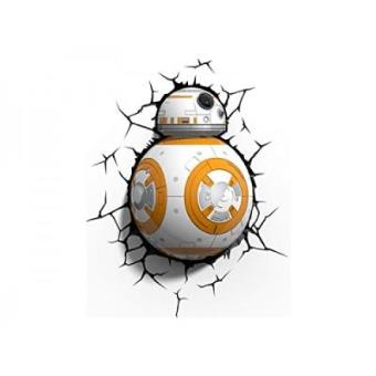 Lámpara decorativa pared 3D Star Wars BB-8