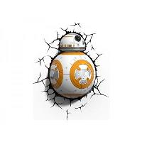 Lámpara decorativa pared 3D Star Wars BB-8