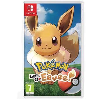 Pokemon Let S Go Eevee Nintendo Switch Para Los Mejores