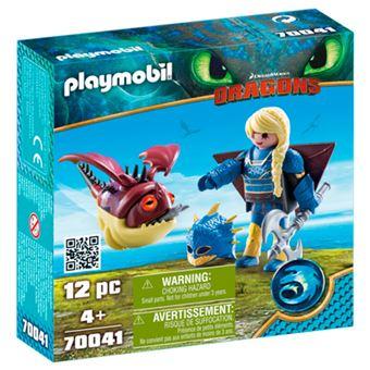 Playmobil Astrid con traje volador y con Globoglob