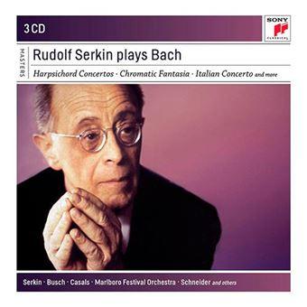 Rudolf Serkin Plays Bach - 3 CD