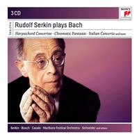Rudolf Serkin Plays Bach - 3 CD