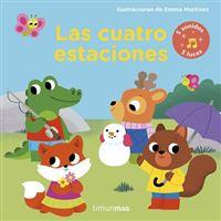 Las cuatro estaciones -  Libro con luces y sonidos