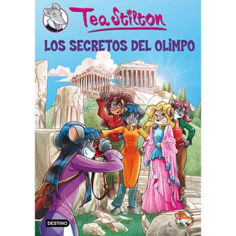 Pack Tea Stilton 20: Los secretos del Olimpo (Libro + pulsera)