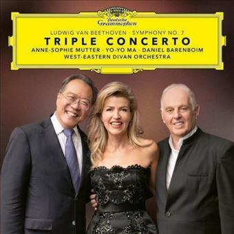 Beethoven: Triple Concerto & Symphony No. 7 - 2 Vinilos
