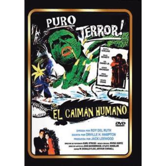 El caimán humano - DVD