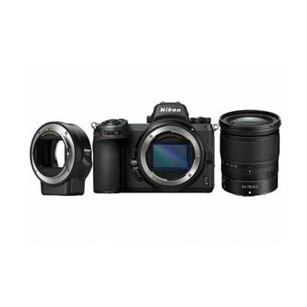 Cámara EVIL Nikon Z7 II + Nikkor Z 24-70mm F/4.0 S + Adaptador de montura FTZ Kit