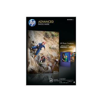 HP Q8698A Papel A4 brillante 50 hojas