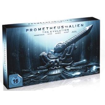 Pack Prometheus - Blu-Ray 3D + 2D + Saga Alien - Blu-Ray