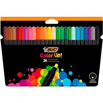 Rotuladores de colores BIC Color Up 24 rotuladores