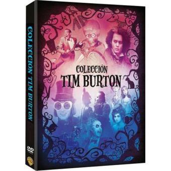 Pack Colección Tim Burton - DVD