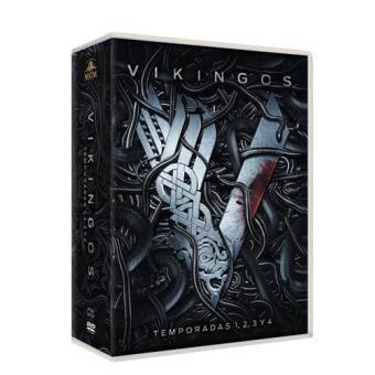 Vikingos - Temporadas 1-4 - DVD