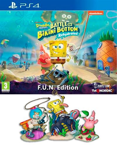 Bob Esponja SquarePants: Battle for Bikini Bottom Rehydrated - Edición F.U.N PS4