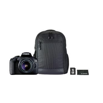 Cámara Réflex Canon EOS 2000D + 18-55mm 1:3.5/5.6 III Kit