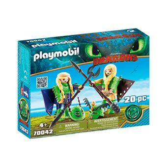 Playmobil Chusco y Brusca con traje volador