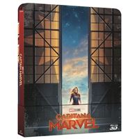 Capitana Marvel - Steelbook Blu-Ray